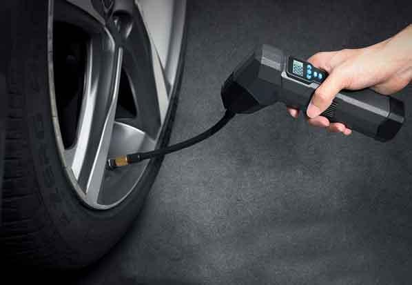 轮胎充气补气方案